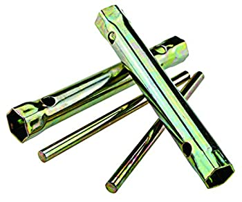 Micro Trader 2 Pcs Motorcycle Ignition Spark Plug Spanner Tool Deep Reach Wrench Socket 16/18MM