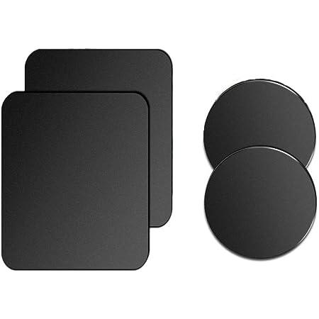 Black USLION Metal Plate for Cell Phone Magnet Holder Magnetic Car Mount Sticker