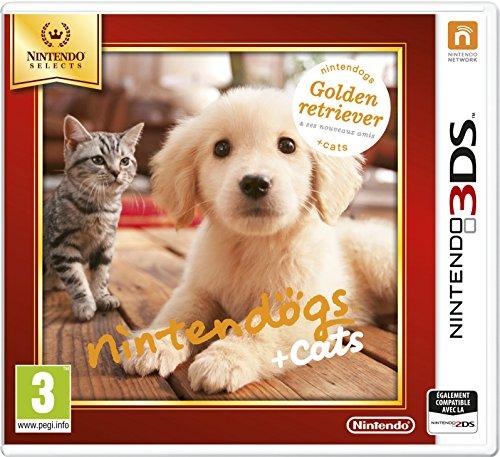 Nintendogs + cats Golden Retriever & ses nouveaux amis - Nintendo Selects - Nintendo 3DS [Edizione: Francia]