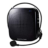 Nefficar Portable LoudSpeaker Voice Amplifier with Microphone for Teachers, Instructors, Emcees, Tour Guides