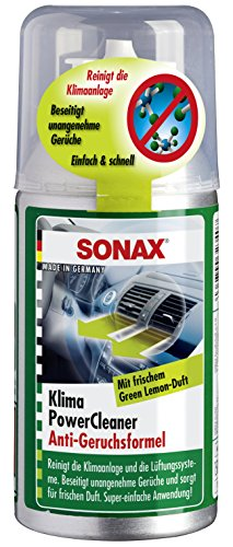 SONAX 40544812 03234000 KlimaPowerCleaner AirAid Klimaanlagenreiniger Green Lemon 100 ml