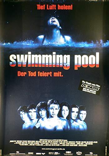 Swimming Pool - Der Tod feiert mit - Filmposter A1 84x60cm gerollt