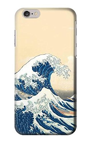 Hokusai Under The Wave off Kanagawa Case Cover Custodia per iPhone 6 Plus iPhone 6s Plus