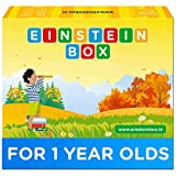 Einstein Box for Kids 1 Year Old Baby/ Toddler Toys & Board Books for Boys & Girls | Pretend Play Gift Pack of Learning and Educational Toys & Games (1 Box Set)