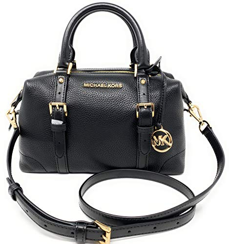 "Zip Closure Michael Kors Jacquard Monogram Ginger Small Duffle Satchel Interior Features Custom Michael Kors Fabric Lining, 2 Slip Pockets -1 Zip Pockets Shoulder Strap Drop Approximate 18 inches, Handle Drop 4"" Approximate Measurements 13"" L x 8"" H ..."
