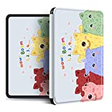 YOPM Funda para Kindle E-Reader,Compatible con 2018 Kindle Paperwhite 4 Kindle Oasis 2/3 Kindle 2019 Auto Sleep/Wake Funda Inteligente De Silicona Ligera Lovely Monster, para J9G29R