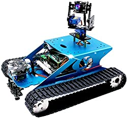 professional Yahboom Professional Raspberry Pi AI Robot Kit and Camera Programming Electronic Tank DIY…