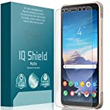 IQ Shield Matte Screen Protector Compatible with Samsung Galaxy S8 Active Anti-Glare Anti-Bubble Film