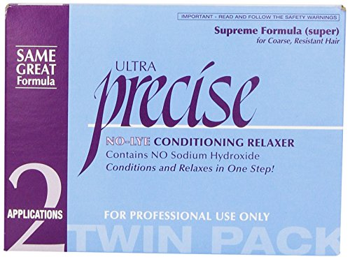 Softsheen Carson Precise No-Lye Supreme Relaxer Twin Pack