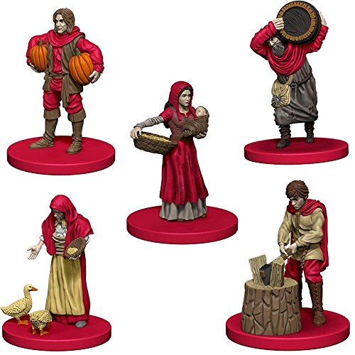 Mayfair Games Europe MFG72870 Agricola Game Expansion: Red (5 Personas), Multicolor
