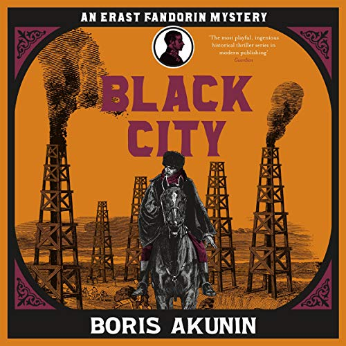 Black City audiobook cover art