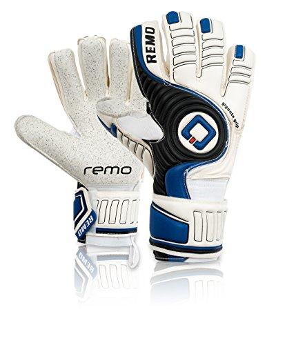 REMO Sports Giganto - Guantes de Portero de látex Unisex, Color Azul, tamaño 11