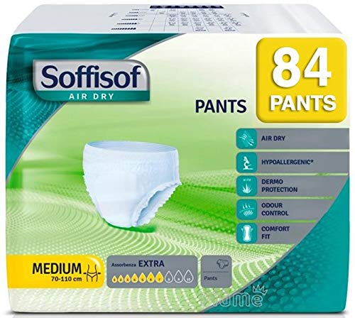 Soffisof Air Dry Assorbenza Extra 84 Pants Medium 70-110cm