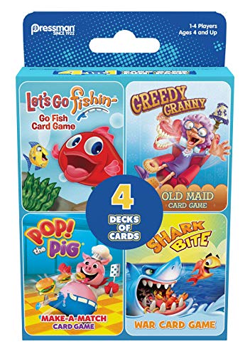 Card Game  4-in-1 Set