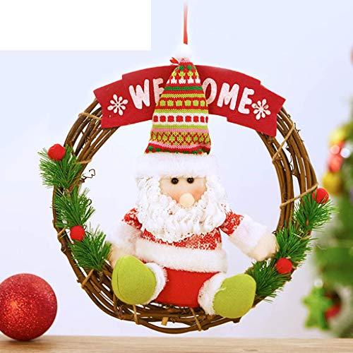 AX-ornament Christmas wreath window decoration Christmas decorations / 9