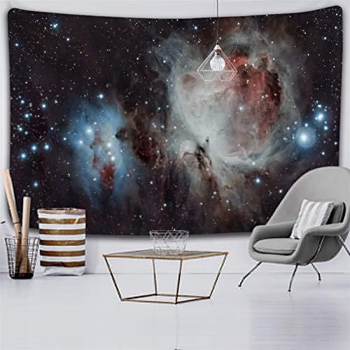 xinmeng Universum Space Nebel Große Kunst-Tapisserie Gedruckt Wandabdeckung Psychedelische Wandbehang (Color : 2020 1129, Size : 150x100cm)