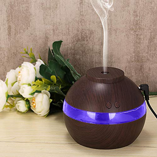 HDFIER luftbefeuchter easehold Aromatherapie Luftbefeuchter, Ultraschall Aroma Öle Diffusor für Zuhause, Yoga USB große Kapazität