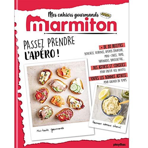 Marmiton Cahier gourmand Apéros