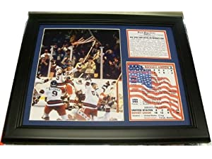 11x14 Framed 1980 Olympics Miracle On Ice Photo Usa Win - Sports Memorabilia