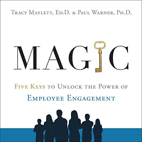 MAGIC audiobook cover art
