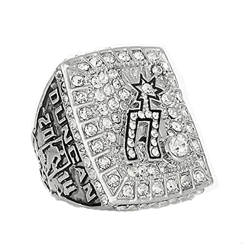 TYTY Spurs Duncan NBA 2014 Championship Ring Campeonato Anillo para los fanáticos de los Hombres de la colección Regalo de visualización campeón del Recuerdo de réplica,with Box,11