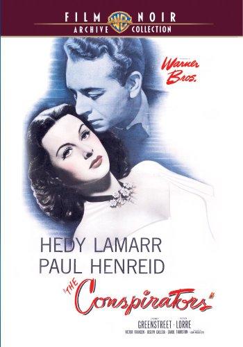 The Conspirators (1944) -  DVD, Hedy Lamarr