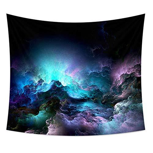 Yxp Psychedelische Constellation Galaxy Universum, Stoff Wandbehang Dekor für Schlafzimmer Wohnzimmer Dorm Tapestry,C,100 * 70