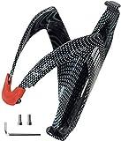 CLELO Portabottiglie per bicicletta, mountain bike, portabottiglie per bicicletta, leggero, sicuro, resistente agli urti, di alta qualità, facile da montare, 30 g