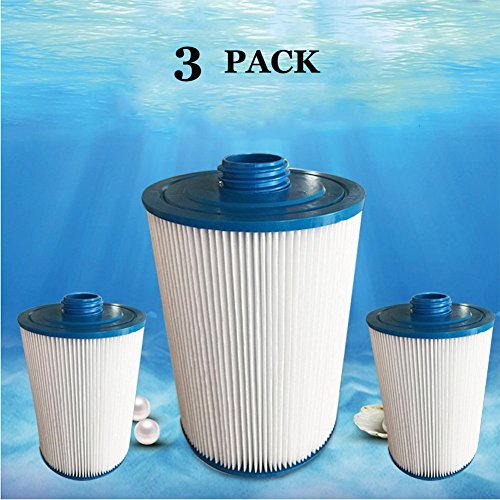 MYY Filtre pour Spa Remplacement Cartouche La Natation Bassin Bien-Être Spa/Bain À Remous Accessoires Lattes (3Pack)