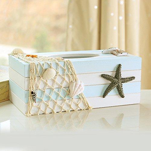 HOME Creative bois salon européen de jardin en bois de style bac pompage papier pompage boîte de serviette boîte à la maison