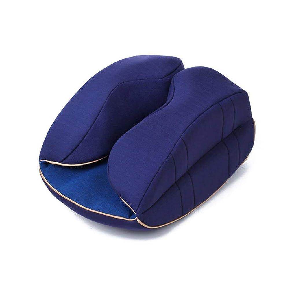 コンプライアンスファイバソフトウェアTJTJ ファッション枕サポートsolidarestヘッドネックオフィスロック解除機能メモリ綿クッション