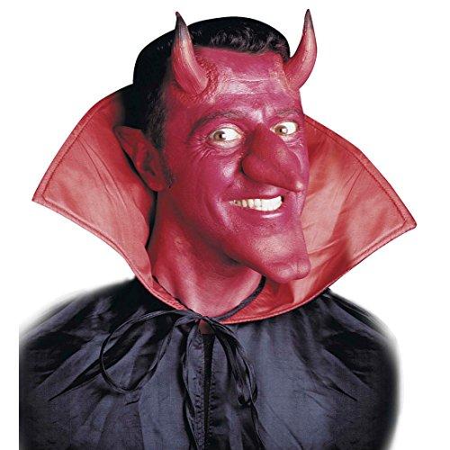 Amakando Cornes en Latex Diable Satan Enfer Corne démon théâtre Carnaval Effrayant soirée à thème Halloween