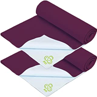 """AVI Presents Born Baby Dry Sheet Completely Water Proof and Reusable Mat/Baby Sleeping Mat/Bed Protector/Absorbent Dry Sheets (28""""x40""""inch) -Purple"""