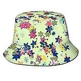 Forma de caleidoscopio Unisex Diseño abstracto2 Sombrero de Cubo de impresión Sombrero de Pescador de Verano Cubo de Viaje Sombrero de Sol de Playa