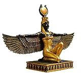 Adornos y Esculturas Coleccionismo CAPRILO Figura Decorativa Egipcia Cleopatra Recostada 23 x 9 x 14 cm. Figuras Resina