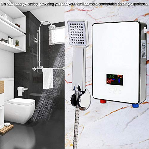 Electric Water Heater, 220V 6500W Tankless Instant Electric Hot Water...