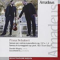 Sonata per violino e piano D 408 op 137 n.3 in sol Sonata per violino e piano D 574 (1817) op 162