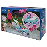 Elsa and Anna's story of sister love comes to life while playing with this beautiful Musical Winter Coach. This Innovatively designed combination 2-in-1 wagon and ride-on is action packed and ready to go. In the ride-on mode, includes a secret compar...