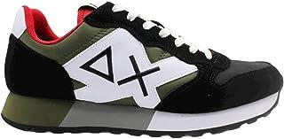 Sun 68 Sneakers Uomo Modello Jaki Bicolor Colore Nero