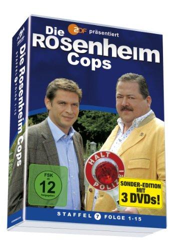 Die Rosenheim Cops - Staffel 7/Folge 01-15 (3 DVDs)