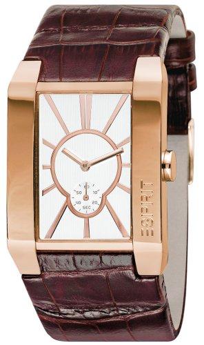 Esprit Herren-Armbanduhr Magnus Dawn Analog Leder ES100851007