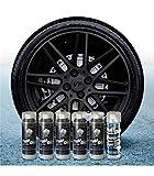AutoFullCar Pack 5 Sprays Full Dip Negro Metalizado Brillo