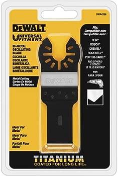 DEWALT Oscillating Tool Blade Metal Cutting