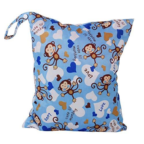 Jungen pannolini riutilizzabili impermeabile bambino fasciatoio borse grande capacità mummia zaino Wet Dry bag