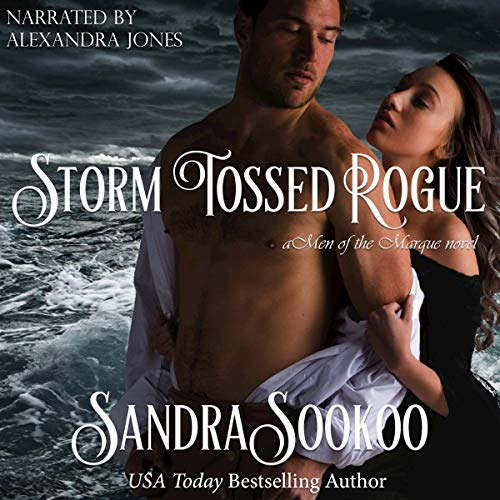 Storm Tossed Rogue audiobook cover art