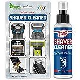 SYPRIN Solución de limpieza de cabezales I limpiador de cabezal de afeitado - para máquinas de afeitar cortapelos afeitadoras y artículos de peluquería