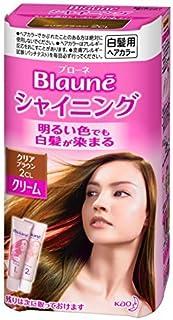 ブローネ シャイニングヘアカラー ヘアカラークリーム 2CL クリアブラウン Japan