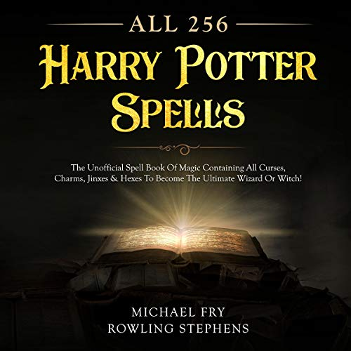 All 256 Harry Potter Spells audiobook cover art