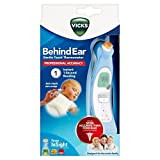 Vicks V980 Behind Ear Thermometer With Fever InSight (pack of 2)
