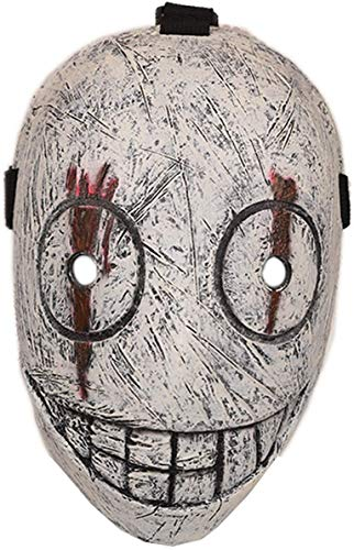 YakeHome Halloween Dekorationen Gasmaske Party Dekoration Requisiten Gruselig beängstigend Halloween Cosplay Kostüm Maske für Erwachsene